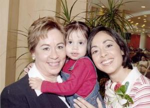 07 de marzo   Yolanda S. de Ramírez, Sofía Güereca y Lorena Ramírez Sánchez