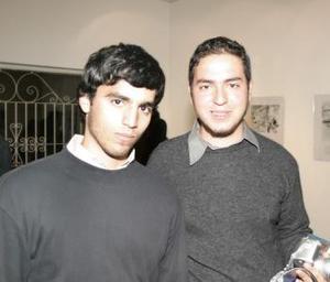 Javier Munguía y Antonio Salazar.