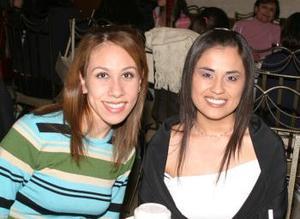 Lucía Mire y Josefina Saucedo.