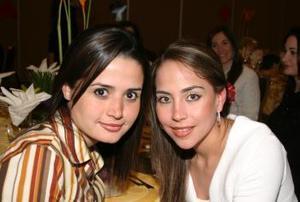 <b>07 de marzo </b> <p> Sofía Ortiz y Alicia Jaime.