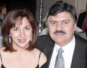 Carlos Trasfí Anaya y Yolanda de Trasfí.