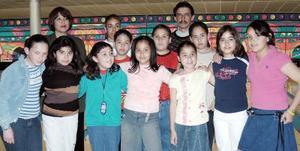 Diana Laura Soto González  celebró su cumpleaños con un convivio con amistades