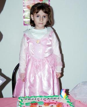 Diana Laura Gómez Palomo, captada el día de su fiesta de cumpleaños .