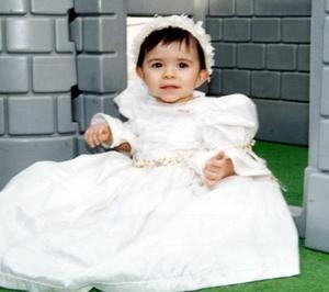 María Guadalupe Mendoza Orozco el día de su fiesta.