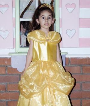 Natalia Estefanía Rodríguez Herrera el día de su fiesta de cumpleaños.