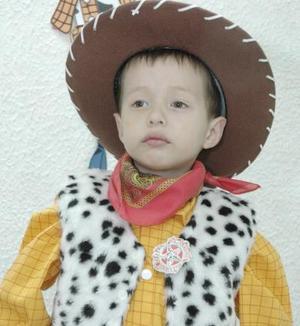 <b>07 de marzo de 2005</b> <p> Renato Castaño Violante celebró su cuarto cumpleaños con una divertida reunión que le ofrecieron sus papás.