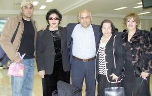 José Hejase viajó al Líbano y fue despedido por sus familiares