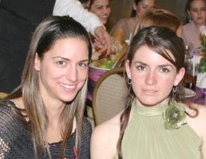 Daniela Murra y Regina Madero.