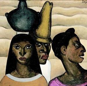 Tres Indígenas de Veracruz de Roberto Montenegro.