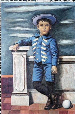 El retrato de Manuel Dolores Azunsolo, de Raúl Anguiano, forma parte de la muestra Premio Nacional de Ciencias y Artes, 60 años de historia plástica inaugaurado en el Museo Nacional de Historia.
