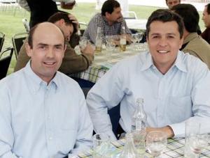 Daniel González y José María González.