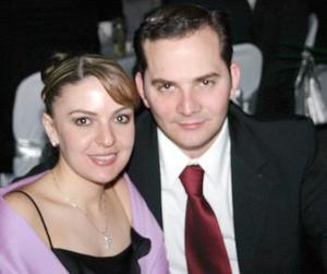 Georgina Cantú y José Antonio Alatorre.