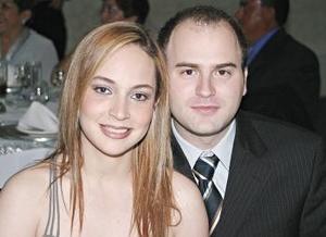 Claudia Rueda y Polo González.