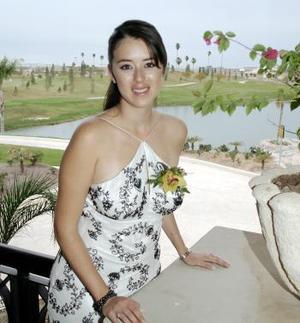 11 de marzo   Raquel Pámanes Muñoz el día de su despedida de soltera