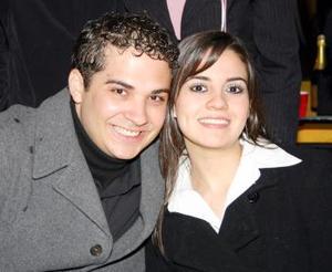Juan Carlos Carmona y Margarita Jaidar.