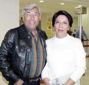 Raúl Méndez viajó al DF y fue despedido por Bertha Méndez.