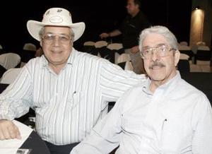 Jesús Humphrey e Ignacio Pámanes