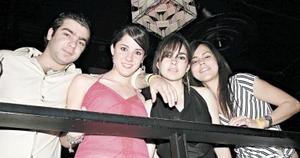 Bernardo Mendoza, María José Jiménez, Ana Gaby Humphrey y Alejandra Celayo.