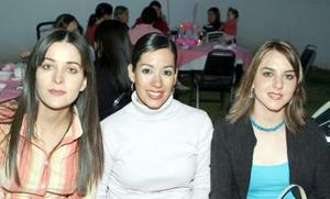 Ileana Salsamendi, Lauras Mestas y Sofía de Marcos.