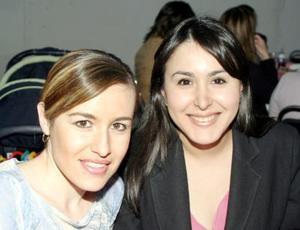 Montserrat de Saracho y Elisa Esparza.