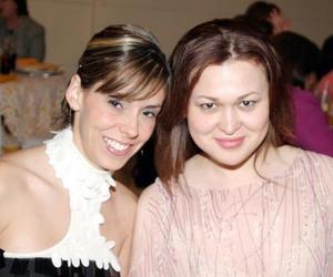 Sabina Rubio y Maika Ortiz.