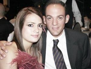 Marcela Martínez y Daniel Rico.