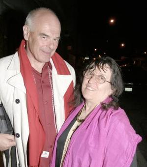 Arlette y Francis Chaumorcel.