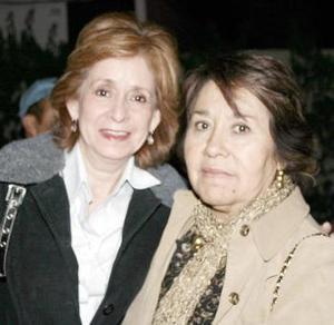 María Elena de Castillo y Lupita de Ocampo