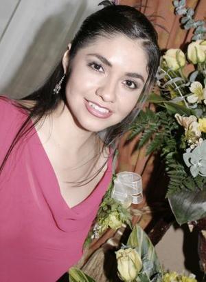 14 de marzo 2005  Karla Enevi Rodríguez López contraerá matrimonio el próximo dos de abril, con Mauricio Calderón Cadena.