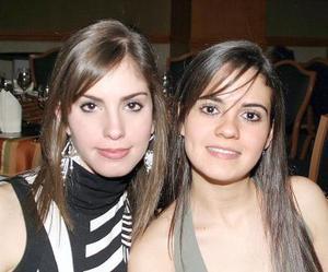 Brenda Arriaga y Margarita Jaidar.