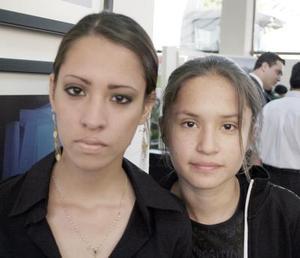 Citlalli Ledesma y Ariadna Ledesma