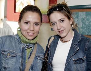 Lorena Marín e Irma Villaseñor