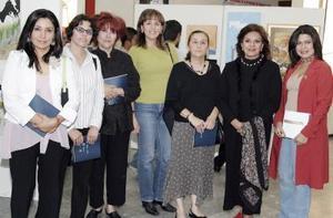 Ale Dávila, Silvia López, Rosario de Ramos, Rosy Gordillo, Elsa Ochoa, Laura Velázquez y Adriana Blázquez.