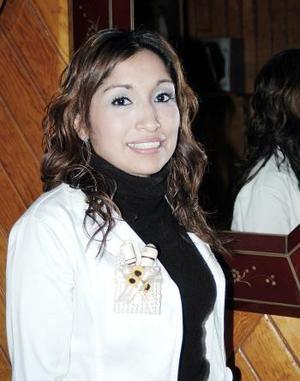 Con motivo de su cercano matrimonio Cynthia Hernández García fue despedida de su soltería.