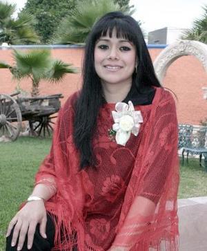 15 de marzo 2005  Rocío Alhelí Carrillo Cháirez disfrutó de una fiesta de despedida de soltera.