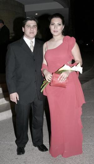 Claudio Sepúlveda y Karla Villanueva.