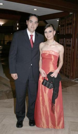 <b>15 de marzo 2005</b> <p> Jaaziel Gorostiaga y Soraya Jaidar de Gorostiaga.