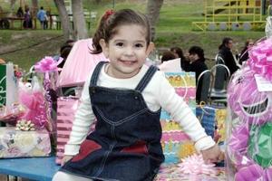 La pequeña Hava Díaz Garza recibió felicitaciones el día de su cumpleaños.