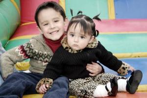 <b>16 de marzo </b> <p> Miguel y Ximena Garza Cuéllar.