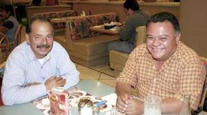 Francisco Suárez García y Jaime Lozano García.