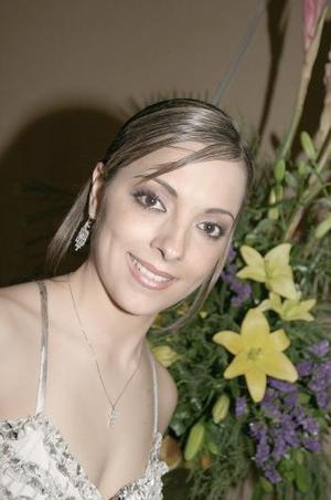 Ileana del Río Guerrero captada en su primera despedida de soltera.