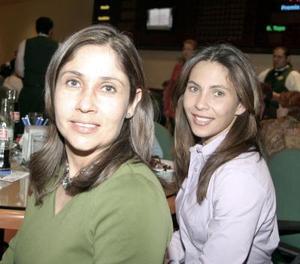 arigel Valdés y Lucia Nohra.