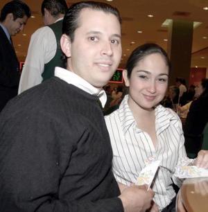 <b>18 de marzo 2005</b> <p>  Ramón Nohra y Sandra González.