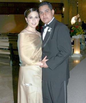 María Vázquez y Alejandro Sánchez.