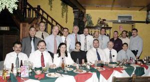Grupo de pediatras en reciente congreso.