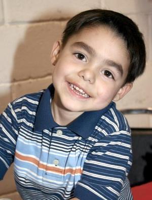 <b>17 de marzo </b> <p> Abraham Ramírez Meraz cumplió cuatro años de vida.