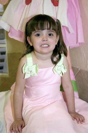 <b>18 de marzo </b> <p> Samantha Alvarado Benavides cumplió cuatro años de vida y los celebró con una fiesta infantil.