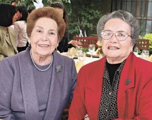 Lupe Reyes de Sotomayor y Magdalena O. de Sirgo
