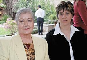 María Teresa Morales y María Estela Reyes de Morales