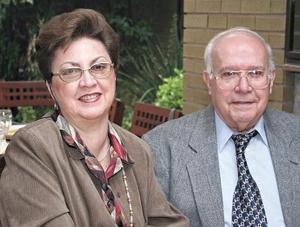Cristina Rodríguez de Yarza y Antonio Yarza